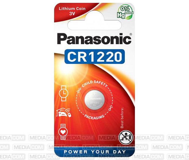 Batterie Lithium, Knopfzelle, CR1220, 3V