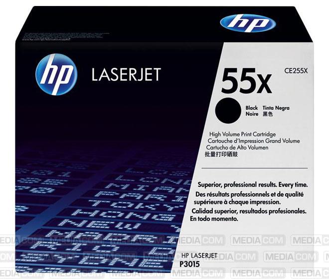 Lasertoner CE255X schwarz