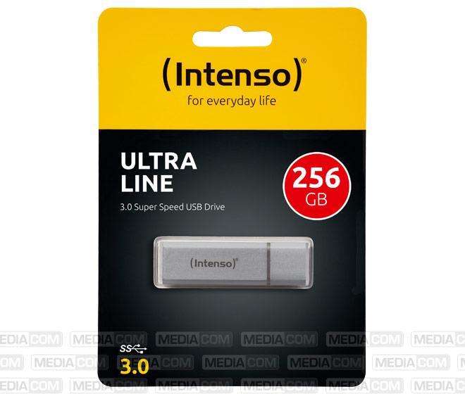 USB 3.0 Stick 256GB, Ultra Line, silber