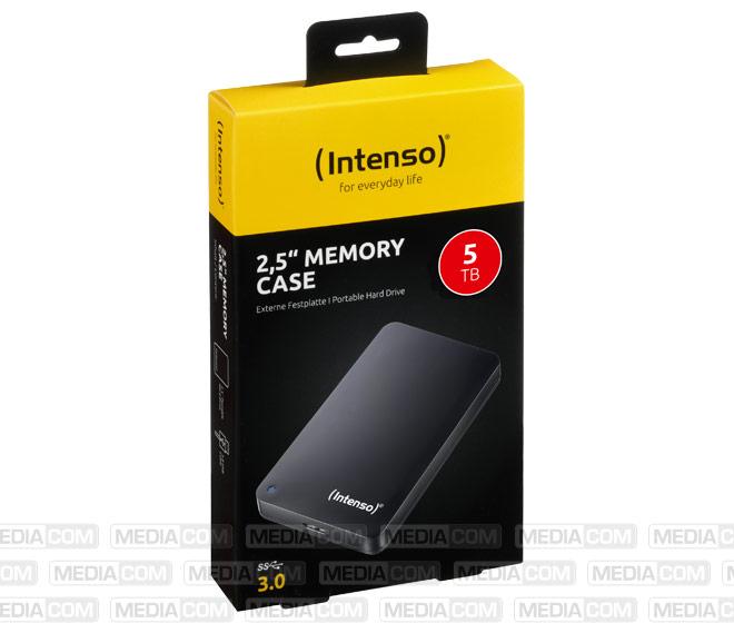 Festplatte 5TB, USB 3.0, 6.35cm (2.5''), schwarz