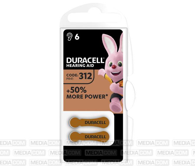 Batterie Zinc Air, 312, 1.4V