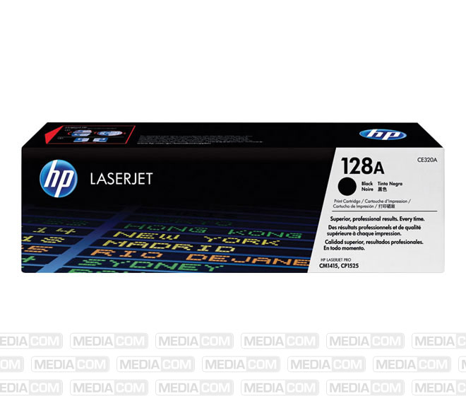 Lasertoner CE320A schwarz