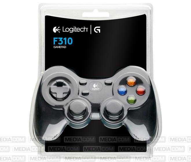 Gaming Pad, F310, USB, schwarz