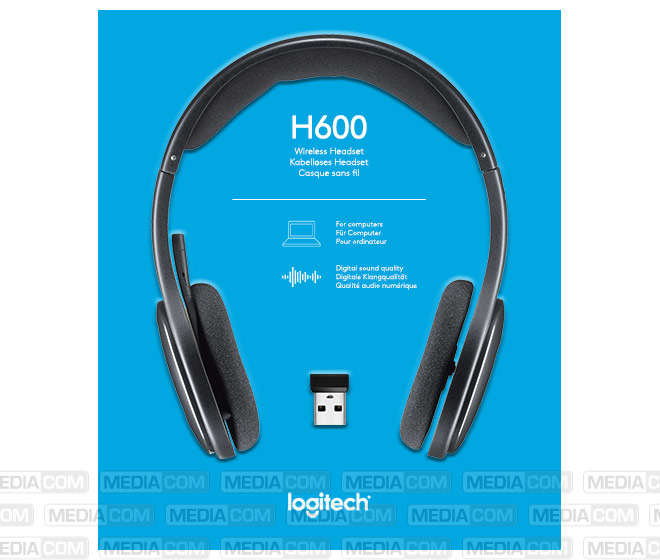 Headset H600, Wireless, Stereo