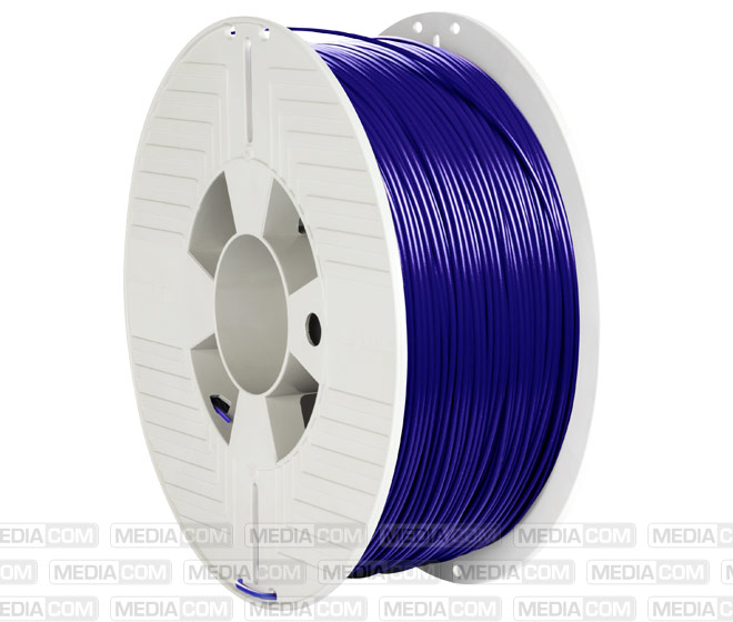 3D Printer Filament, PLA, 1.75mm, 1kg, blau