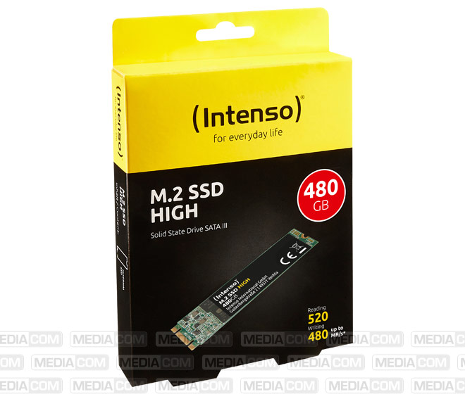SSD 480GB, SATA-III, M.2 2280