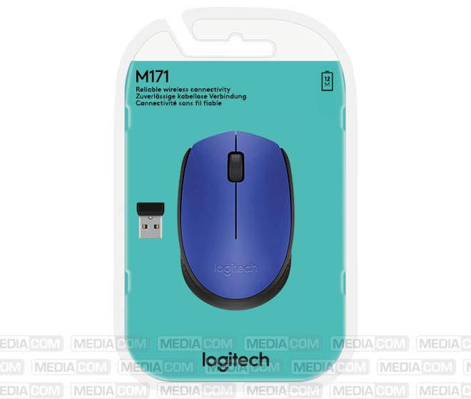 Maus M171, Wireless, blau