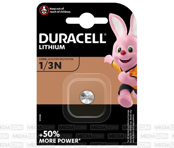 Batterie Lithium, Knopfzelle, CR1/3N, 2L76, 3V