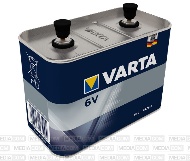 Batterie Zink-Kohle, 540, 6V, 17.000mAh