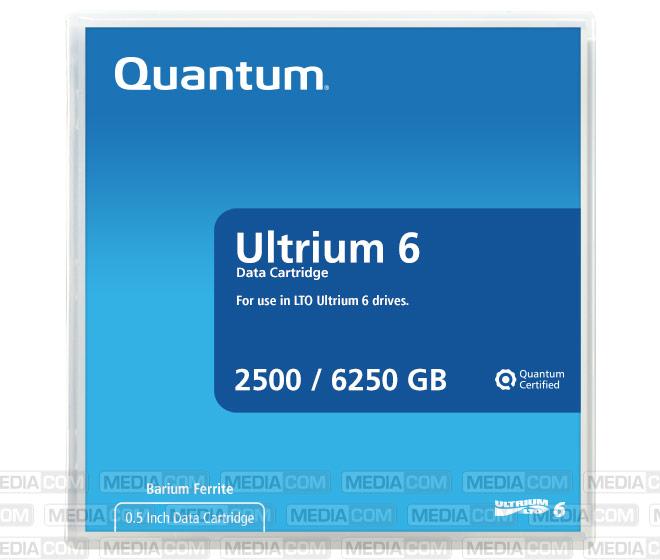 LTO Ultrium-6 Cartridge 2.5TB/6.25TB