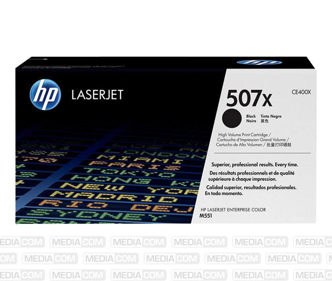 Lasertoner CE400X schwarz