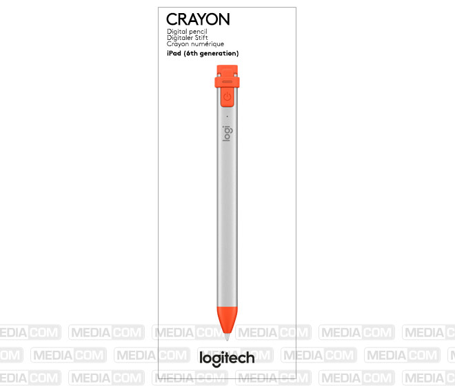 Digital Pen CRAYON, Wireless, orange/schwarz