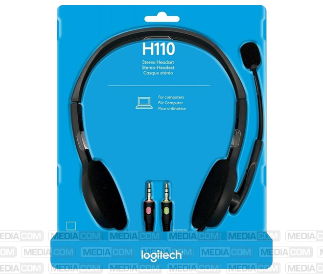 Headset H110, Audio, Stereo