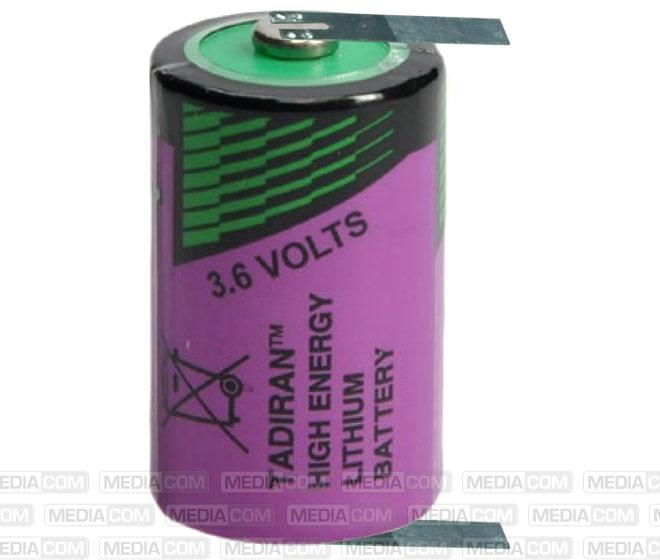 Batterie Lithium, SL750/T, 3.6V, 1100mAh