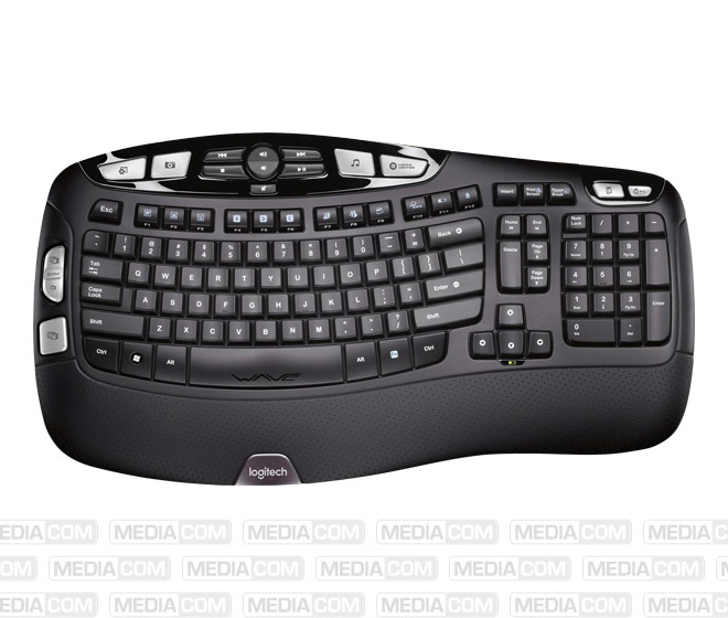 Tastatur K350, Wireless, Unifying, schwarz