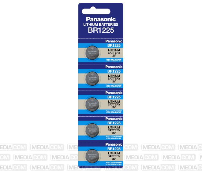 Batterie Lithium, Knopfzelle, BR1225, 3V