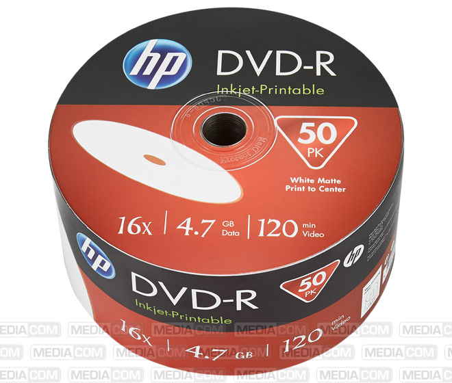 DVD-R 4.7GB/120Min/16x Bulk Pack (50 Disc)