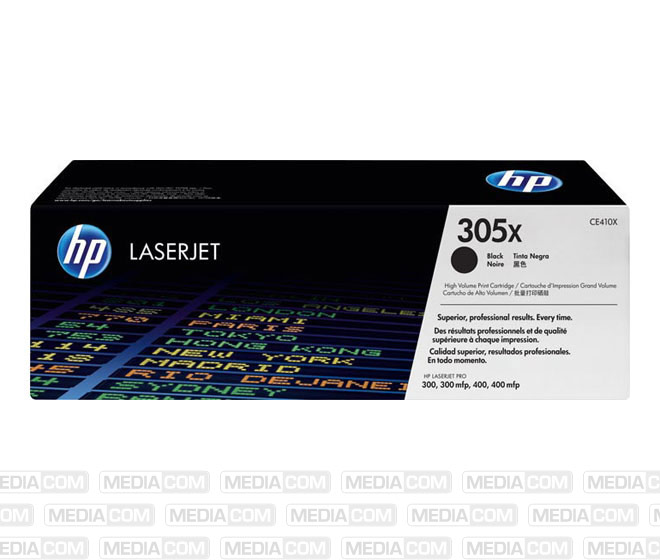 Lasertoner CE410X schwarz