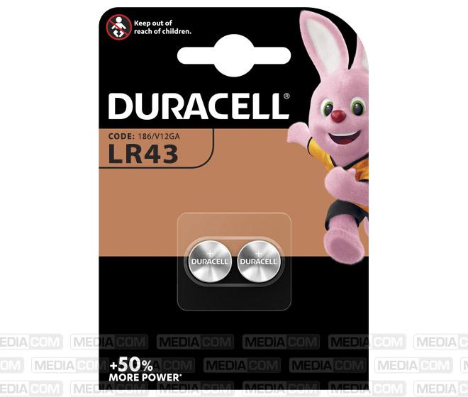 Batterie Alkaline, Knopfzelle, LR43, V12GA, 1.5V