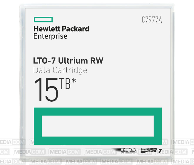 LTO Ultrium-7 Cartridge 6TB/15TB