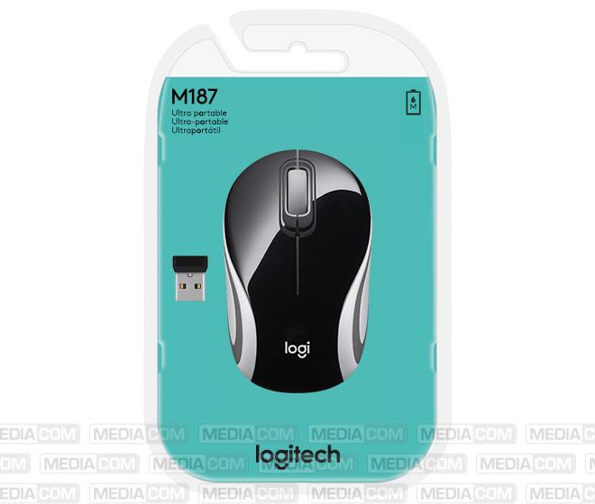 Maus M187, Wireless, schwarz