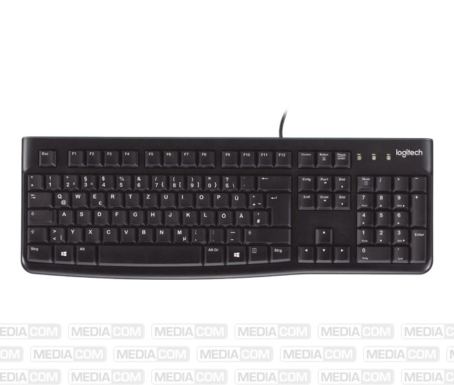 Tastatur K120, USB, schwarz