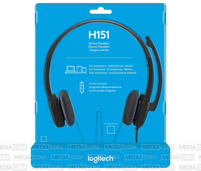 Headset H151, Audio, Stereo