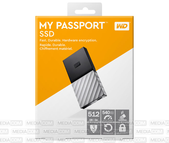 SSD 512GB, USB 3.1, Typ A-C, 4.57cm (1.8'')