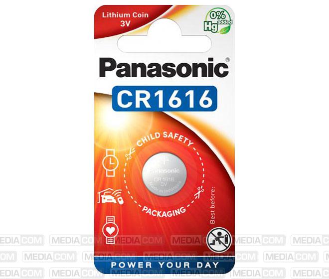 Batterie Lithium, Knopfzelle, CR1616, 3V