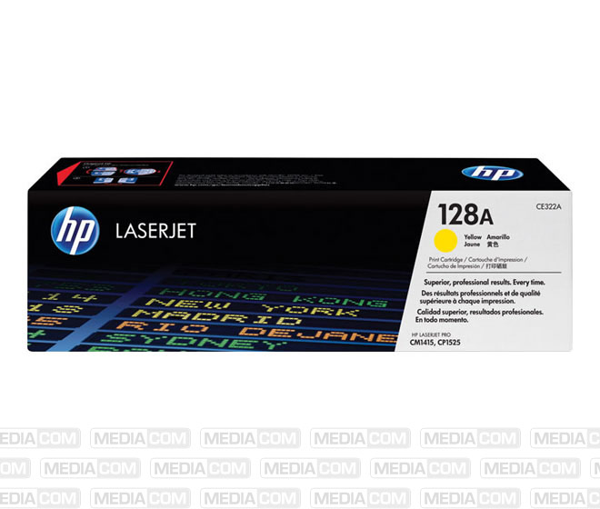 Lasertoner CE322A gelb