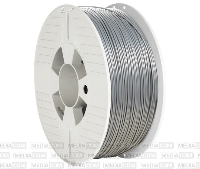 3D Printer Filament, ABS, 1.75mm, 1kg, silber