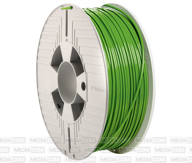 3D Printer Filament, PLA, 2.85mm, 1kg, grün