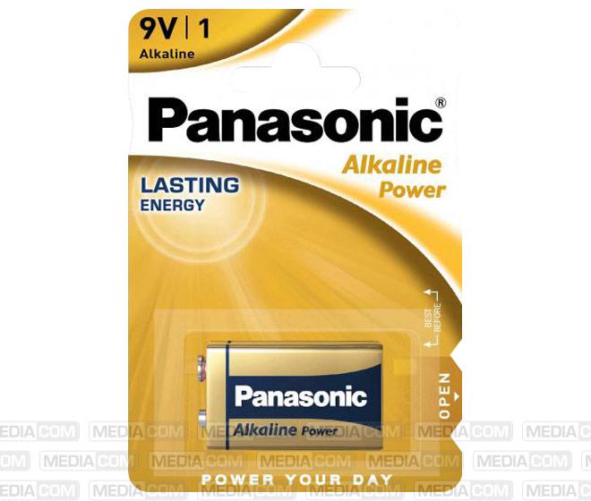 Batterie Alkaline, E-Block, LR61, 9V