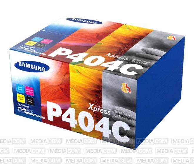 Lasertoner CLT-P404C, Rainbow Pack