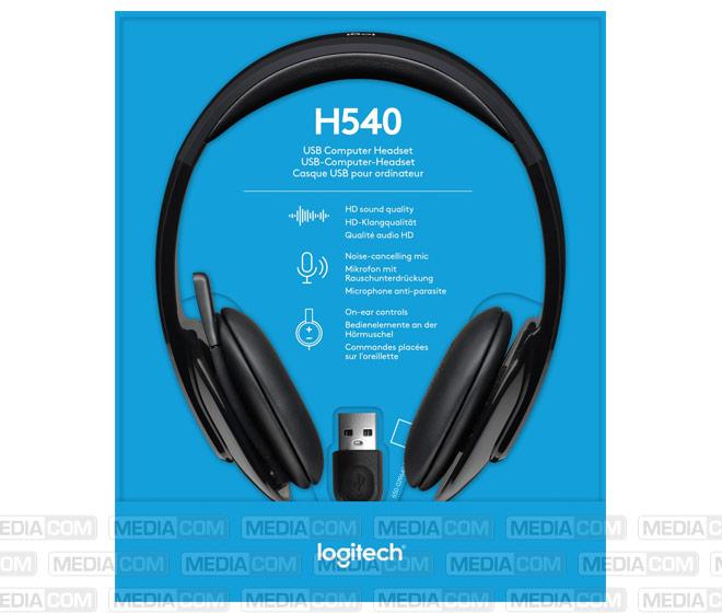 Headset H540, USB, Stereo