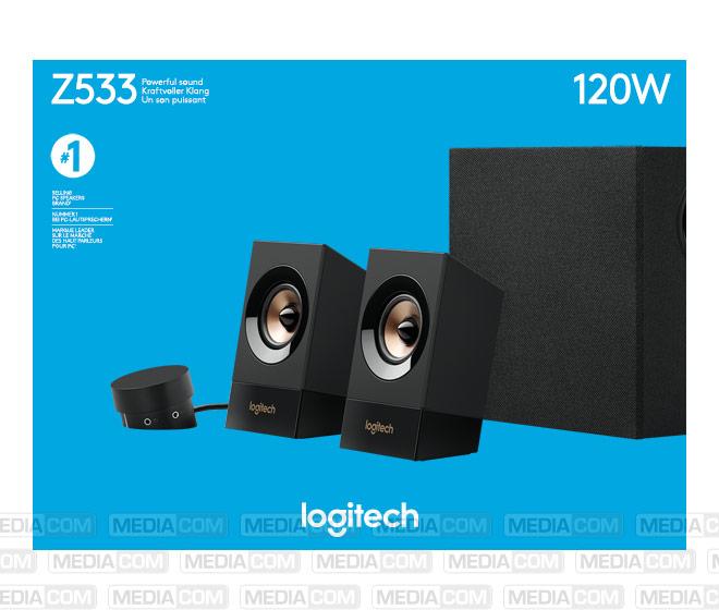 Lautsprecher Z533, Audio, Stereo 2.1, 120W