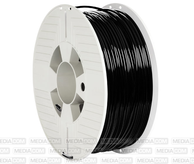 3D Printer Filament, PLA, 2.85mm, 1kg, schwarz