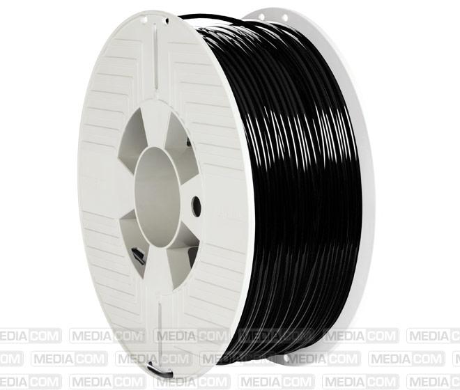 3D Printer Filament, PLA, 2.85mm, 1kg, schwarz
