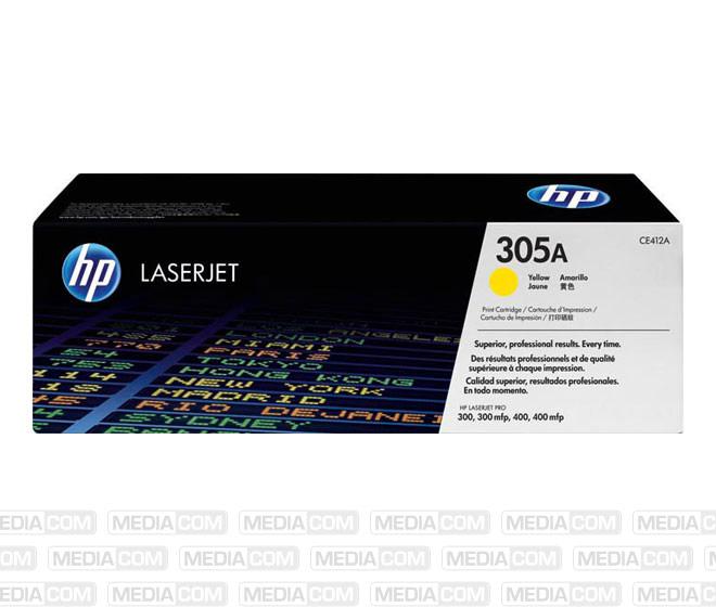 Lasertoner CE412A gelb