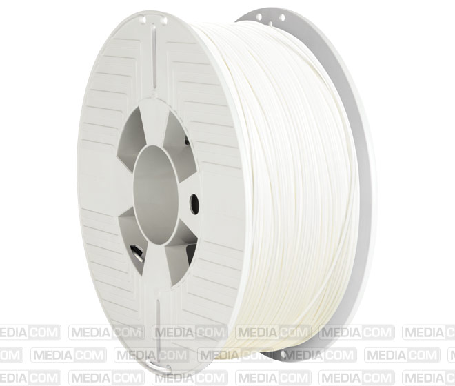 3D Printer Filament, PLA, 1.75mm, 1kg, weiss