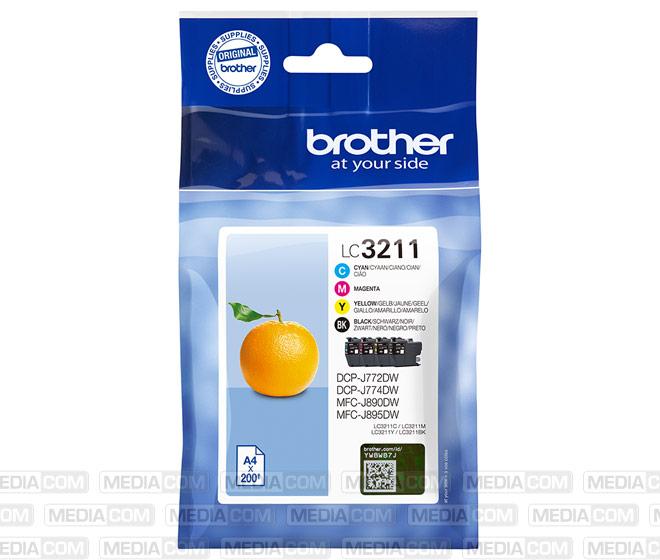 Tinten Multipack LC-3211 Value Pack (4er Set)