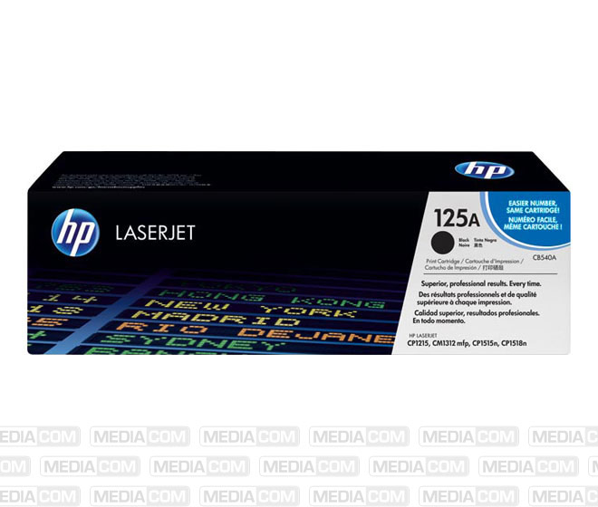 Lasertoner CB540A schwarz