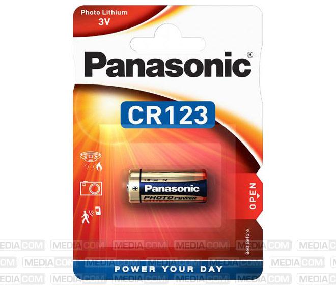Batterie Lithium, CR123, 3V