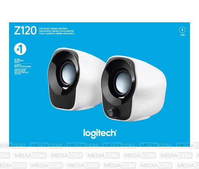Lautsprecher Z120, Audio, Stereo 2.0, 1.2W