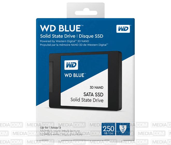 SSD 250GB, SATA-III, 6.35cm (2.5'')
