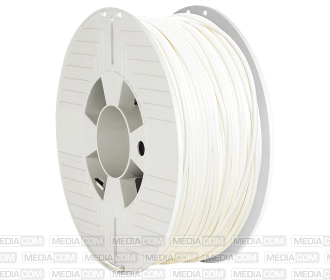3D Printer Filament, ABS, 2.85mm, 1kg, weiss