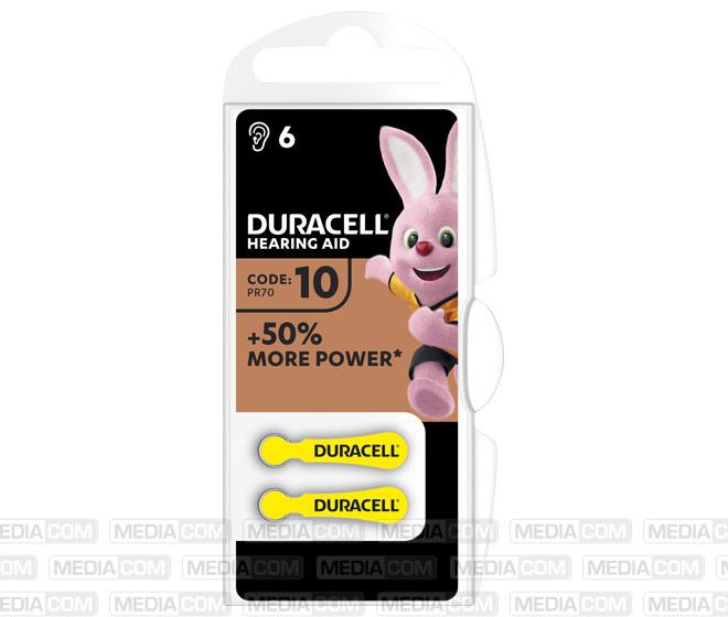Batterie Zinc Air, 10, 1.4V