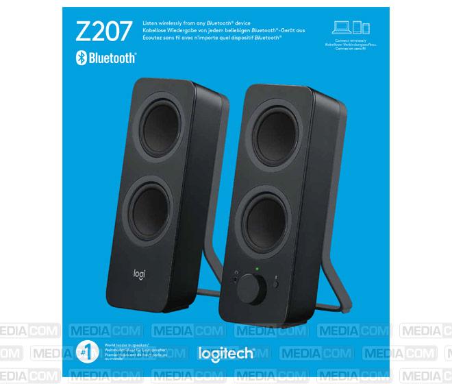 Lautsprecher Z207, Bluetooth, Stereo 2.0, 10W