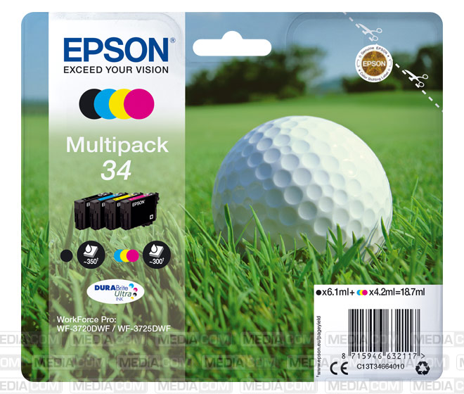 Tinten Multipack 34 (4er Set)