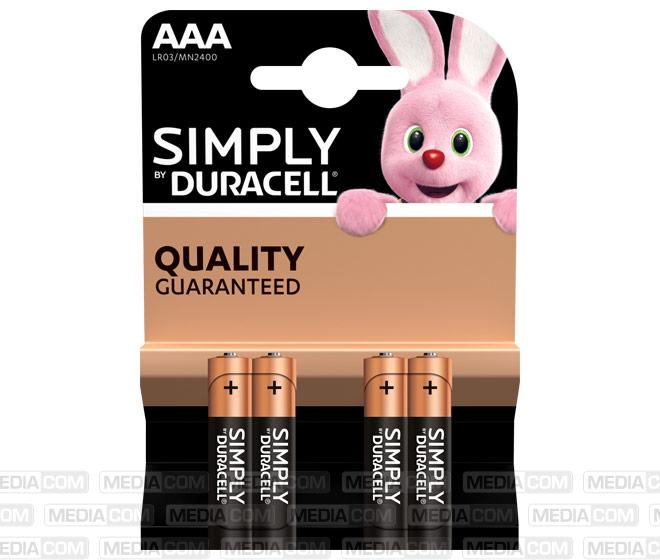 Batterie Alkaline, Micro, AAA, LR03, 1.5V